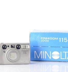 Minolta Minolta Freedom Zoom 115 Point and Shoot Film Camera *