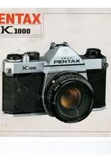 Pentax Pentax K1000 Original Instruction User Manual