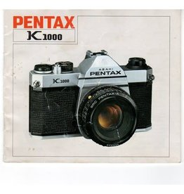 Pentax Pentax K1000 Original Instruction User Manual