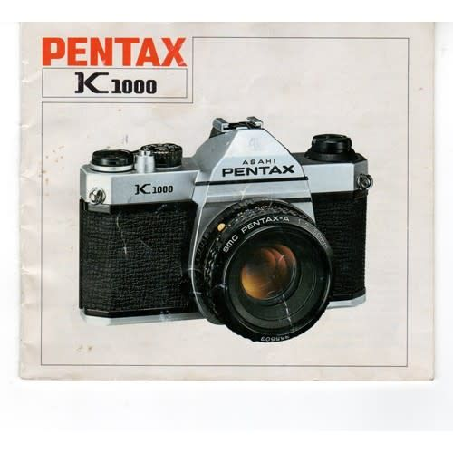 pentax pentax k1000 original instruction user manual lezot camera rh lezotcameras com pentax k1000 instructions pentax k1000 mode d'emploi
