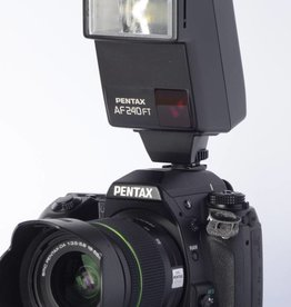 Pentax Pentax K7 w/ 18-55mm WR lens and AF240 Flash