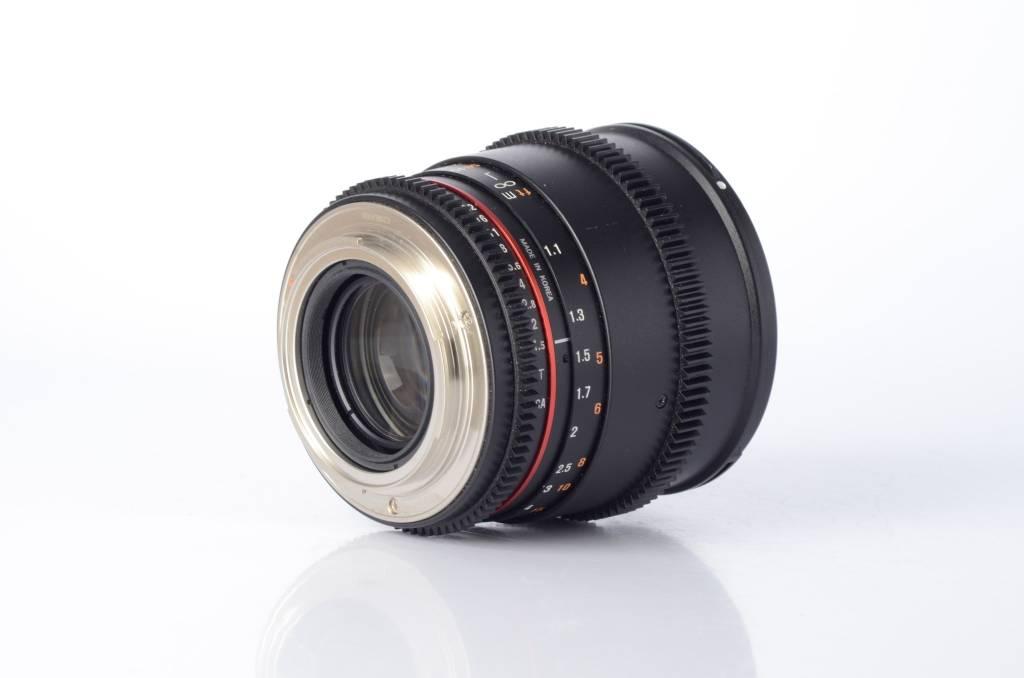 Rokinon Rokinon 85mm t/1.5 AF IS USM II Cinema Lens Canon Mount