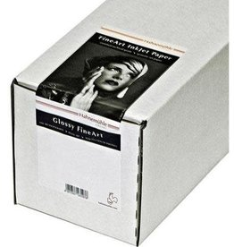 "Hahnemuhle Hahnemuhle Fine Art Baryta 325, Ultra Smooth High Gloss, Bright White Inkjet Paper, 325gsm, 24""x31' Roll"