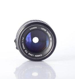 Canon 50mm 1.4 FD SN:4046827