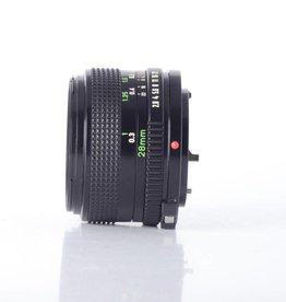 Canon Canon 28mm 2.8 SN: 294664 *