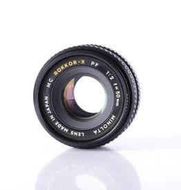 Minolta Minolta 50mm f/2 SN: 1195805 *