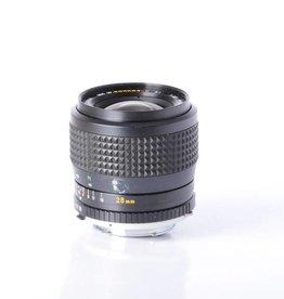 Minolta Minolta 28mm f/2.5 W Rokkor X SI SN: 1718906 *