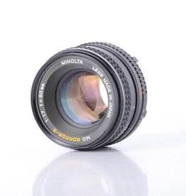 Minolta Minolta Rokkor-X 50mm f/1.7 SN: 2400787 *