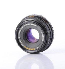 Minolta Minolta 45mm f/2 SN: 1420382 *