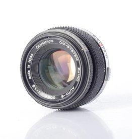 Olympus Olympus 50mm f/1.8 Sn: 3655672 *