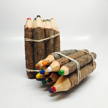 Wood Crayons