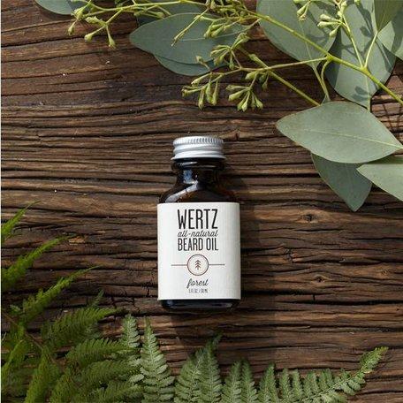 Wertz Natural Forest Beard Oil