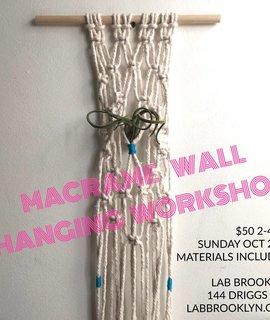 Rebecca Daryl DIY Macrame Wall Hanger - October 23rd