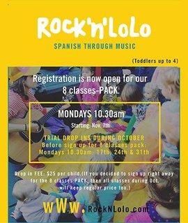 Rock N LOLO - Spanish Through Music