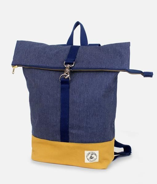 Lady Alamo LA Brightday Backpack Denim Stitch