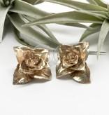 ZYC Jewelry ZYC Flower Blossom Brass studs