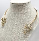 ZYC Jewelry ZYC Eucalyptus Brass choker