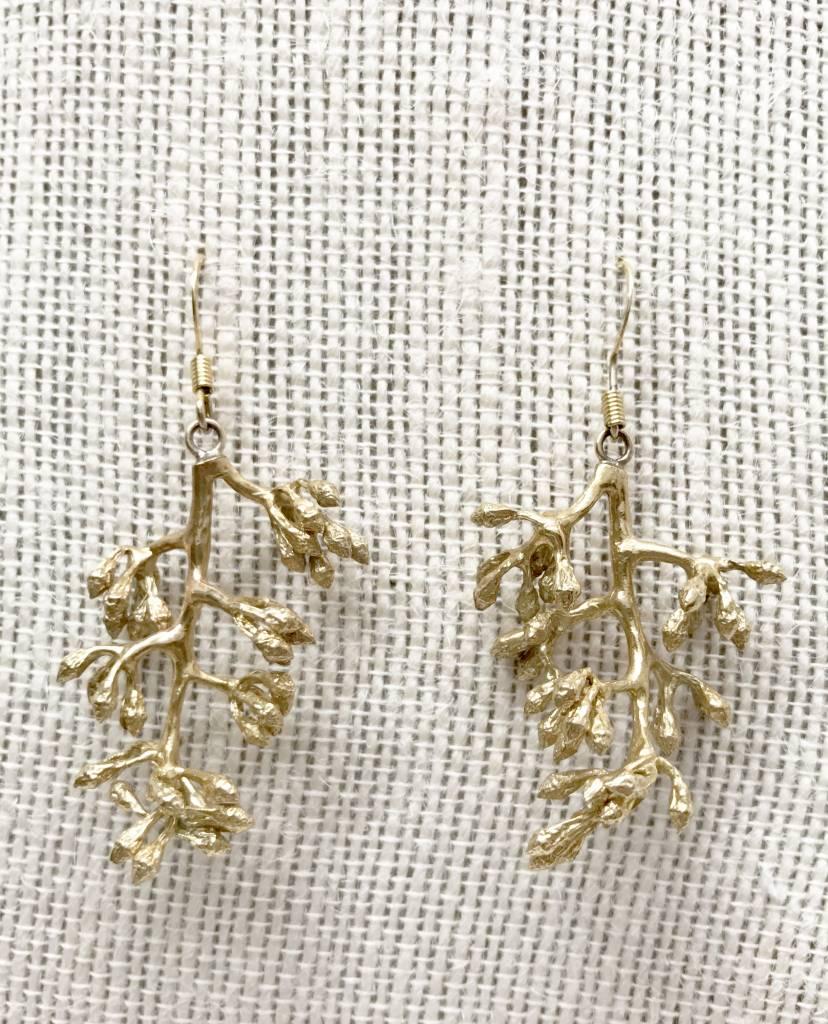 ZYC Jewelry ZYC Flower Blossom Brass dangle