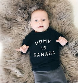 Home Is Canada Kids Tee