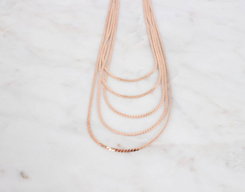 Multi Layer Thick Necklace