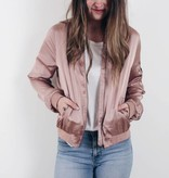Slayer Satin Bomber
