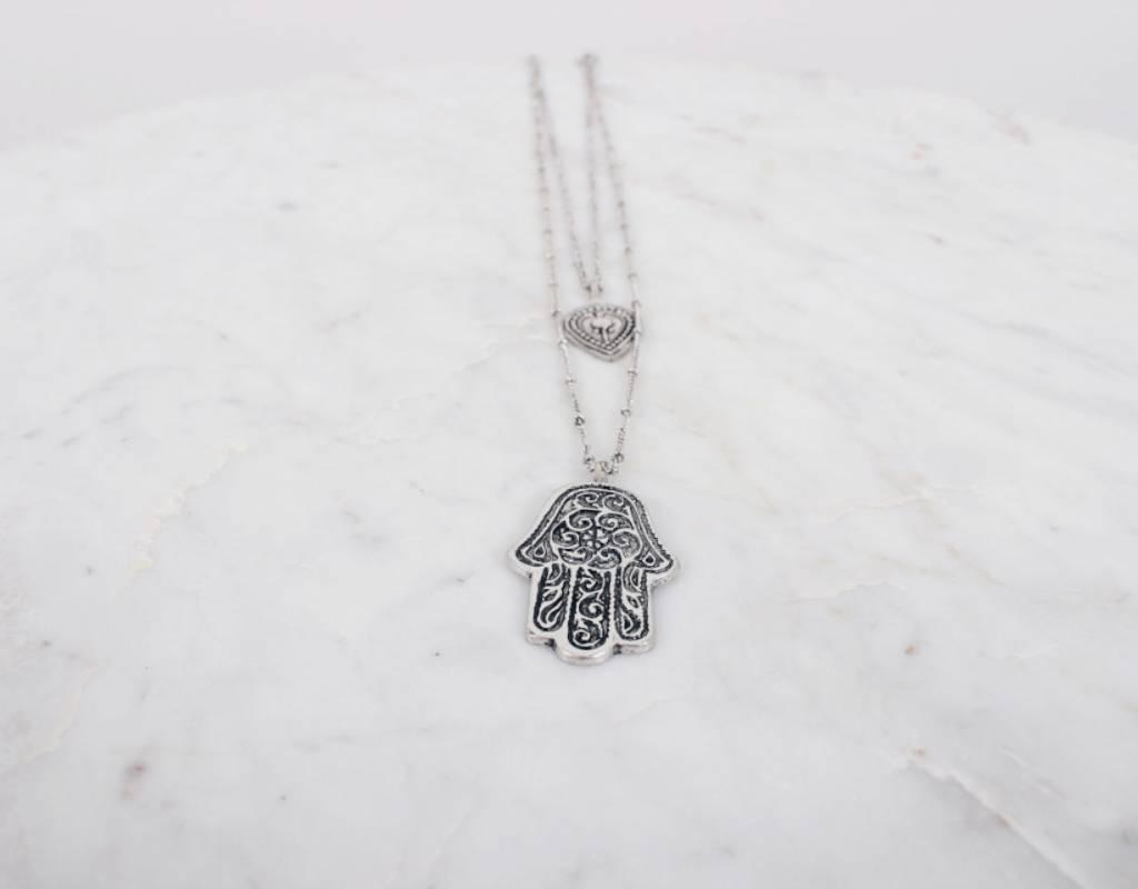 Hasma Hand Necklace