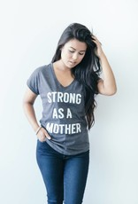Strong as a Mother V-neck