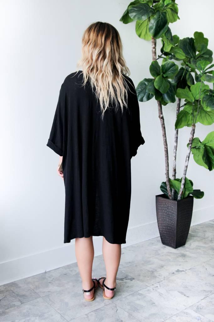 Hydrangea Kimono