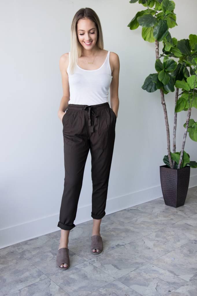 Dark Loden Trouser Pant