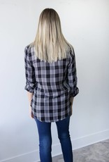 Mono Plaid Shirt