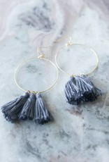 3 Tassel Earrings