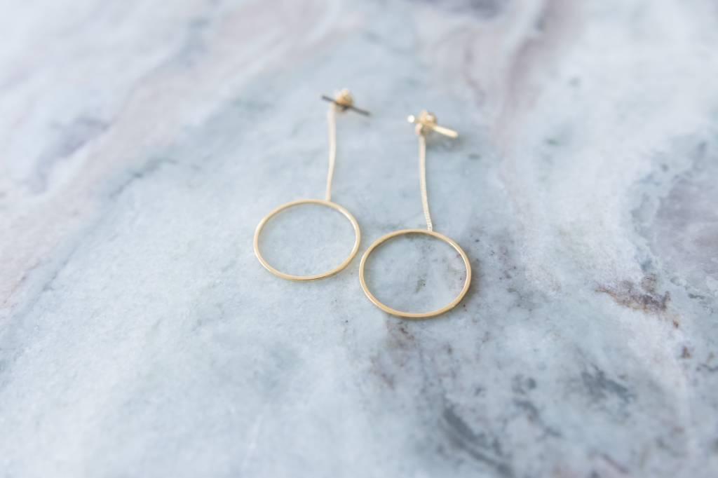 Topaz Cubic Zirconia Earring