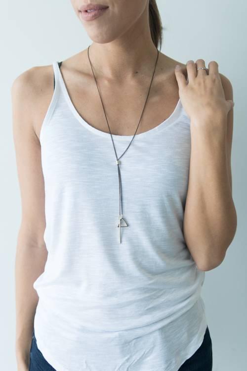 Tri Bar Necklace