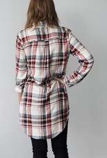 Closer Plaid Tunic