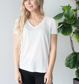 Joy Spicy V-Neck SS Top
