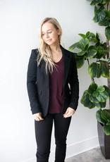 Jana L/S Jersey Blazer