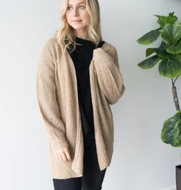 Only Monika L/S Long Cardigan Knit