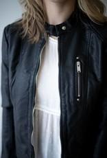 California Favo Short PU Jacket