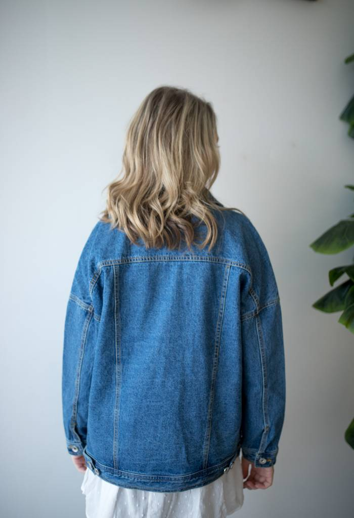Olivia LS Oversize Jacket Mix
