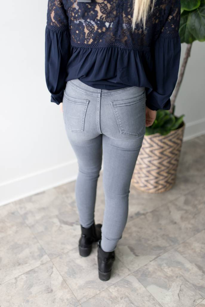 Sophia Hw Skinny Jeans - Length 32