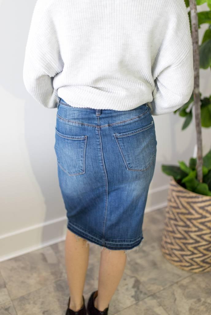 Jasmin NW Below Knee Skirt
