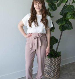 Florence HW Belt Ankle Pant