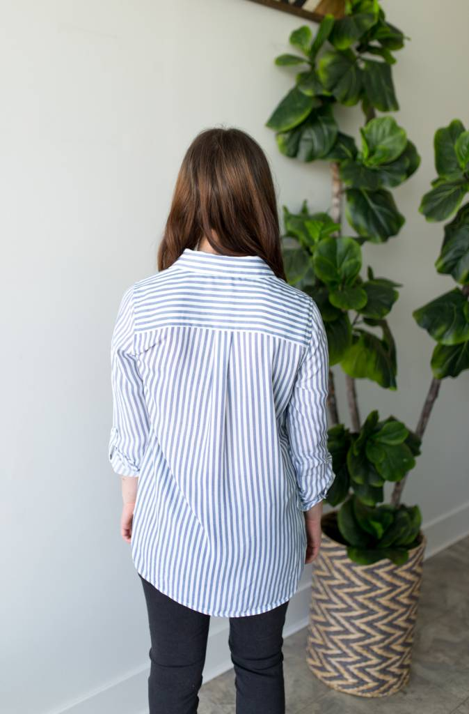Stripes on Stripes Shirt