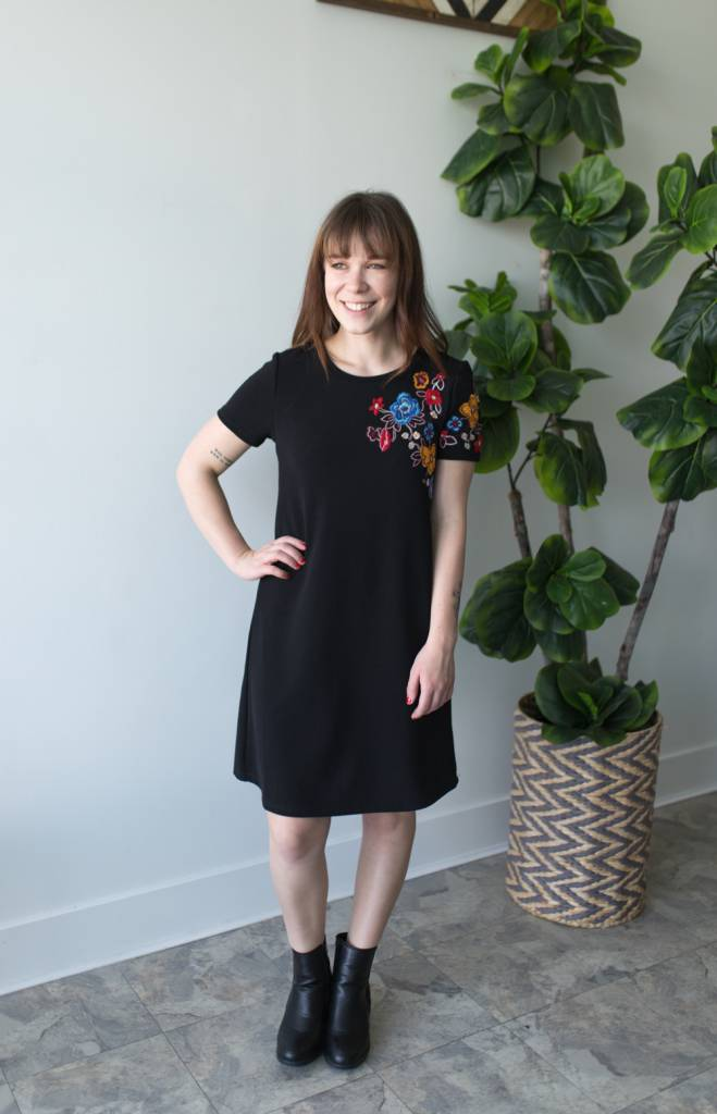 Shadow & Light Dress