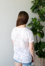 Orchid Burnout Tee