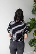 Lirose S/S Tie Tee