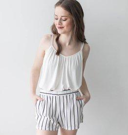 Asta Milo Short Draw Shorts Striped