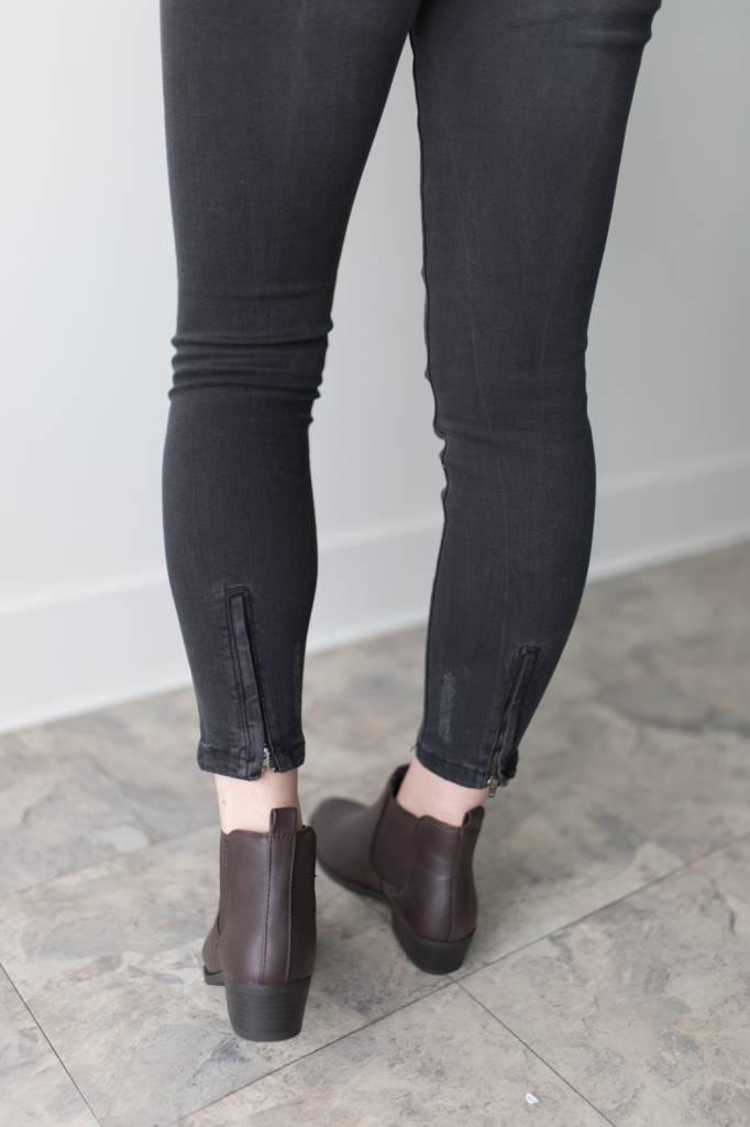 Seven MR Slip Zip Ankle Length 30