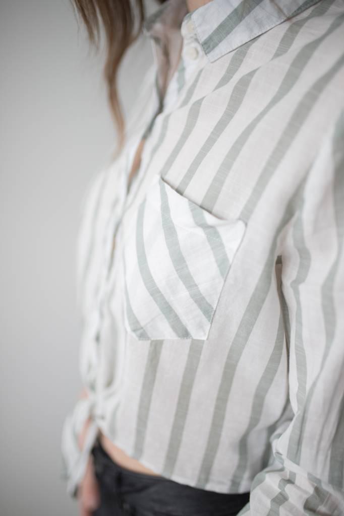Ameli 7/8 Tie Shirt