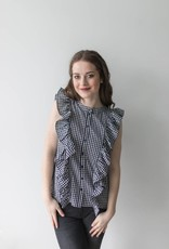Luna S/L Ruffle Shirt